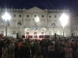Show Lindymenticabili piazza Bodoni Torino