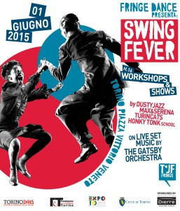 Max e Serena Swing Dance Fringe 2015