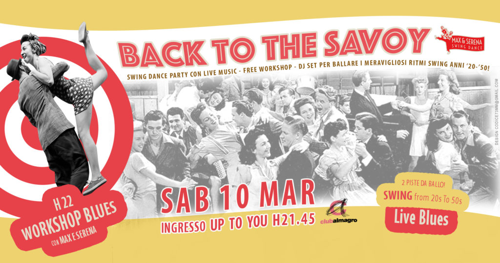 Back To The Savoy Dance Party