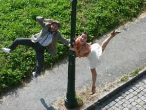 Max e Serena Parco Valentino
