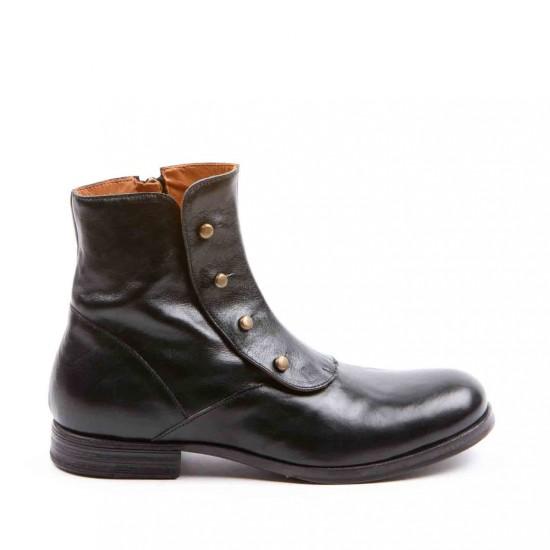 scarpe vernice uomo · stivaletti retrò ghetta 504e33c7819