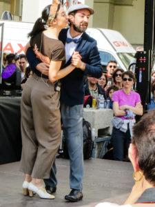 Max e Serena lezione Lindy Hop Torino